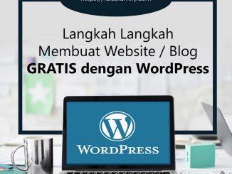 Membuat Website Gratis Dengan Wordpress